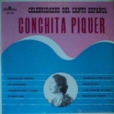Discos de vinilo: CONCHITA PIQUER - CELEBRIDADES DEL CANTO ESPAÑOL VOL. 1 - EDICIÓN DE VENEZUELA. Lote 47003192