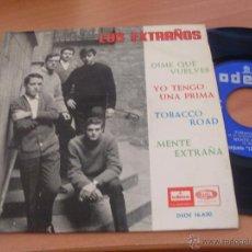 Discos de vinilo: LOS EXTRAÑOS (DIME QUE VUELVES +3 ) EP ESPAÑA 1964 (EPI14). Lote 47007021