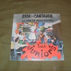Discos de vinilo: LOS JUNIOR´S, LA VIDA ES MARAVILLOSA. DISCOS VICTORIA 1969. Lote 47007782