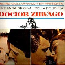 Discos de vinilo: LP BANDA SONORA ORIGINAL DOCTOR ZHIVAGO - MAURICE JARRE. Lote 47010322