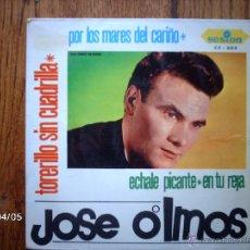 Discos de vinilo: JOSE OLMOS - TORERILLO SIN CUADRILLA + 3. Lote 47010499