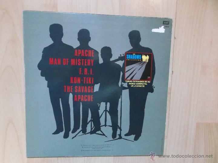 Discos de vinilo: THE SHADOWS APACHE 1991 - Foto 2 - 47010701