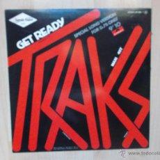 Discos de vinilo: TRAKS GET READY 1983. Lote 47010724