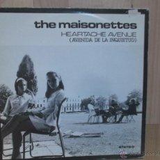 Discos de vinilo: THE MAISONETTES HEARTACHE AVENUE. Lote 47011164