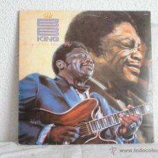 Discos de vinilo: BB KING- LP--KING OF THE BLUES-EDICION BRASILEÑA. Lote 47013265