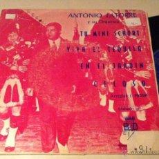 Discos de vinilo: ANTONIO LATORRE EP PROMOCIONAL DISCO MUY BIEN PORTADA VG MUY RARO. Lote 47013880