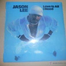 Discos de vinilo: JASON LEE (LP) THE HEAT IS ON AÑO 1977. Lote 47015064