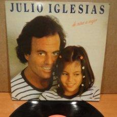 Discos de vinilo: JULIO IGLESIAS. DE NIÑA A MUJER. LP / CBS - 1981. DISCO DE LUJO.**/****. Lote 47016111