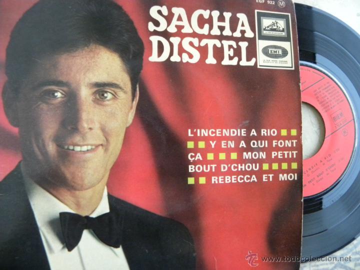 SACHA DISTEL -EP -EDIC. FRANCESA (Música - Discos de Vinilo - EPs - Canción Francesa e Italiana)