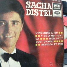 Discos de vinilo: SACHA DISTEL -EP -EDIC. FRANCESA. Lote 47016327