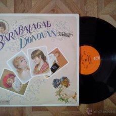 Discos de vinilo: DONOVAN - BARABAJAGAL - REED. USA 8º LP 1969 - CARPETA VG+ VINILO VG+. Lote 47019595