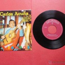 Discos de vinilo: CARLOS ACUÑA. TANGOS. Lote 47019608