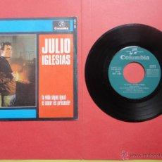 Discos de vinilo: JULIO IGLESIAS. LA VIDA SIGUE IGUAL. Lote 47019675