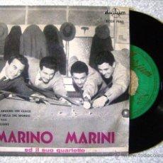 Discos de vinilo: MARINO MARINI.ROCK AROUND THE CLOCK + 3..PEDIDO MINIMO 5€. Lote 47020234