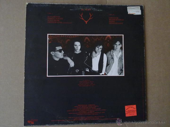 Discos de vinilo: El Alma - Tierra Caliente - Moraga Records - Primer LP - 1989 - VG+/VG+ - Foto 2 - 47026713