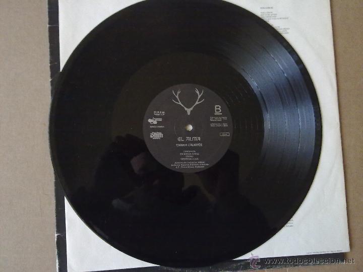 Discos de vinilo: El Alma - Tierra Caliente - Moraga Records - Primer LP - 1989 - VG+/VG+ - Foto 6 - 47026713