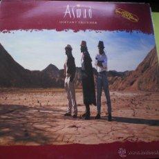 Discos de vinilo: ASWAD - DISTANT THUNDER . LP . 1988 ISLAND RECORDS - PEPETO. Lote 47026930