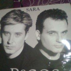 Discos de vinil: PECOS - SARA + 2 (MX ARIOLA, 1993). MUY ESCASO CN VERSION INÉDITA ESPERANZAS. Lote 47029460