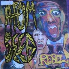 Discos de vinilo: ATOM SEED - REBEL / EVERYBODY / FOOLS TO FALL (SINGLE ALEMAN DE 1991). Lote 47035128