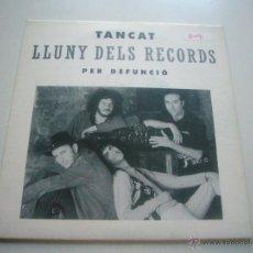 Discos de vinilo: TANCAT PER DEFUNCIÓ, SG, LLUNY DELS RECORDS, 1992 PROMO C37. Lote 47047807