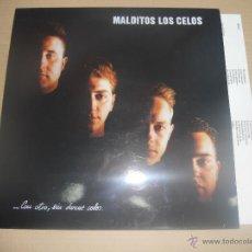 Discos de vinilo: MALDITOS LOS CELOS (LP) CON OTRO SIN DARME CELOS AÑO 1994 - HOJA INTERIOR CON LETRAS. Lote 47048293