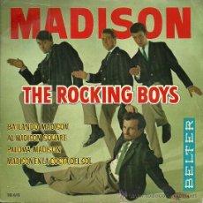 Discos de vinilo: THE ROCKING BOYS EP SELLO BELTER AÑO 1962. Lote 47048876