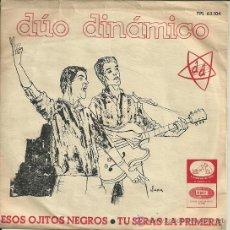 Discos de vinilo: DUO DINAMICO SINGLE SELLO LA VOZ DE SU AMO AÑO 1965. Lote 47049036