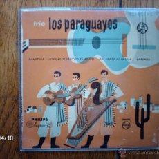 Discos de vinilo: TRIO LOS PARAGUAYOS - GALOPERA + 3. Lote 47054272