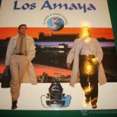 Discos de vinilo: LOS AMAYA- LA VUELTA AL MUNDO EN RUMBA LP. Lote 47061705