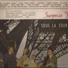 Discos de vinilo: LP-SURPRISE PARTY-VARIOS-BARCLAY 42017-SPAIN 1959-BEN-EDDIE BARCLAY-LES TIP TOP-LEFEVRE-LUCHESSI. Lote 47064596