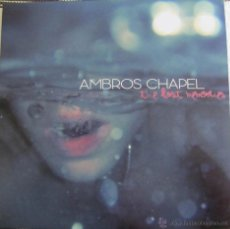 Discos de vinilo: AMBROS CHAPEL - THE LAST MEMORIES - LP EDICION LIMITADA -CURE - BAUHAUS - PETER MURPHY-JOY DIVISION. Lote 60968602