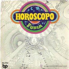 Discos de vinilo: FURIA SG BP 1972 HOROSCOPO/ VUELVO AL HOGAR HARD ROCK (EX GATOS NEGROS) . Lote 47068459