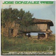 Discos de vinilo: JOSE GONZALEZ PRESI - CUANDO SALI DE ASTURIAS + 3 (VERGARA 1963) EP. Lote 47070447