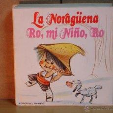 Discos de vinilo: ESCOLANIA DEL COLEGIO DE SAN ANTONIO DE MADRID - LA NORAGÜENA / RO, MI NIÑO,RO - MOVIEPLAY SN-60.007. Lote 47072441