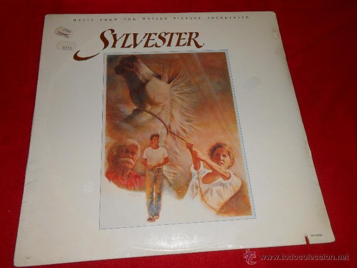 SYLVESTER OST BSO THE TEXTONES+GAIL DAVIES+RANK AND FILE+CRUZADOS+LOS LOBOS LP 1985 ED AMERICANA USA (Música - Discos - LP Vinilo - Bandas Sonoras y Música de Actores )