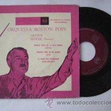Discos de vinilo: ORQUESTA BOSTON POPS, ARTHUR FIEDLER (DIRECTOR): KARELIA SUITE, OP 11- ALLA MARCIA (SIBELIUS);. 1959. Lote 47075677