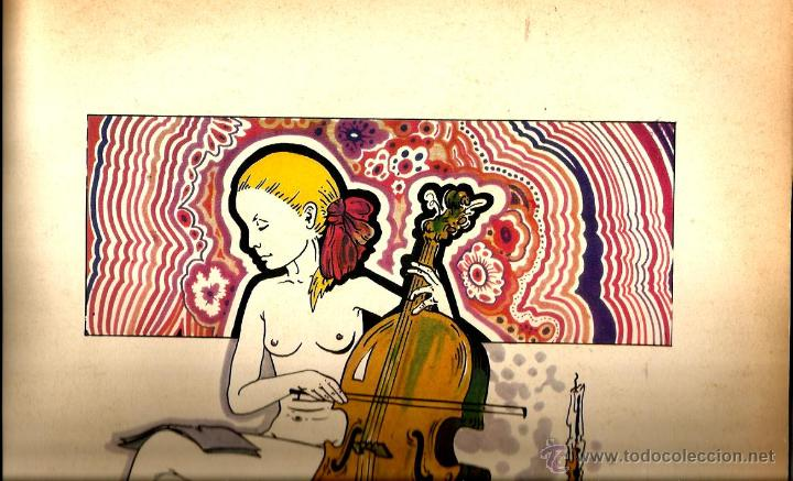 Discos de vinilo: LP PATTY PRAVO : PAZZA IDEA ( EDICION ORIGINAL ITALIANA DE 1973, CONTENIENDO ALBUM DE DIBUJOS - Foto 5 - 47082282