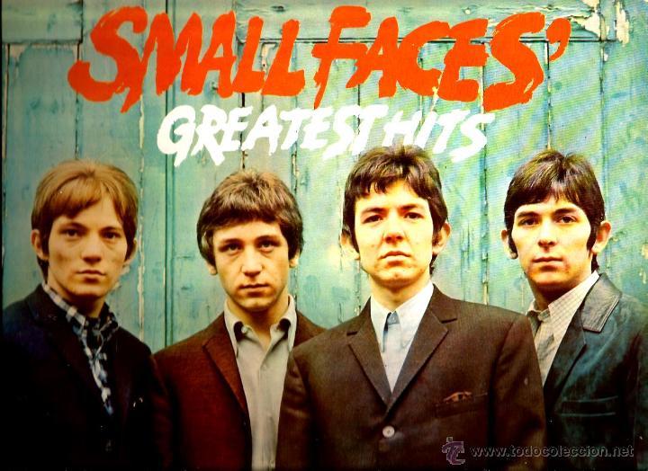 LP SMALL FACES : GREATEST HITS ( EDITADO POR EL SELLO IMMEDIATE EN 1977 ) (Música - Discos - LP Vinilo - Pop - Rock - Internacional de los 70)