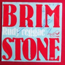 Discos de vinilo: BRIMSTONE - RUDY REGGAE // RUDI'S. Lote 47087015