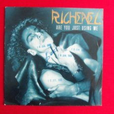 Discos de vinilo: RICHENEL - ARE YOU JUST USING ME . Lote 47087052