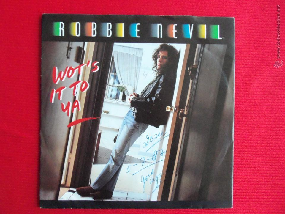 ROBBIE NEVIL - WOT'S IT TO YA (Música - Discos - Singles Vinilo - Reggae - Ska)