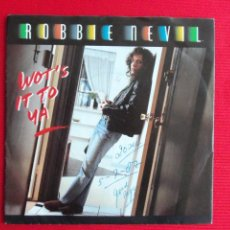 Discos de vinilo: ROBBIE NEVIL - WOT'S IT TO YA . Lote 47087546