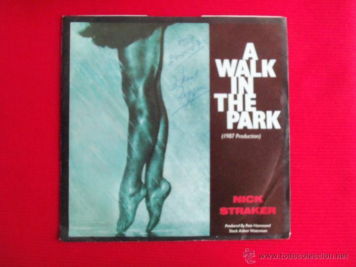 NICK STRAKER BAND - A WALK IN THE PARK // WAY OF LIFE (Música - Discos - Singles Vinilo - Reggae - Ska)