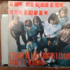 Discos de vinilo: LOS PEQUEÑOS CANTORES-CANCION DE LOS CERDITOS Y EL LOBO-DAME UN SILBIDITO-. Lote 47088221