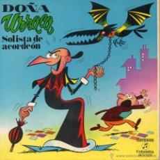 Discos de vinilo: CUENTO DOÑA URRACA, EP, SOLISTA DE ACORDEON + 1, AÑO 1971. Lote 47092873