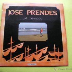 Discos de vinilo: JOSE PRENDES A TIEMPO LP SFA 1986 NUEVO¡¡¡ ASTURIAS PEPETO. Lote 47096778
