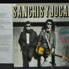 Discos de vinilo: VINILO LP - SANCHIS Y JOCANO - . Lote 47100414