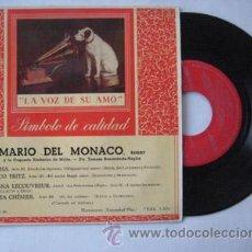 Discos de vinilo: ANTIGUO VINILO : MARIO DEL MONACO, TENOR: MARTHA; L'AMICO FRITZ; ADRIANA LECOUVREUR; ANDREA CHÉNIER.. Lote 47101940