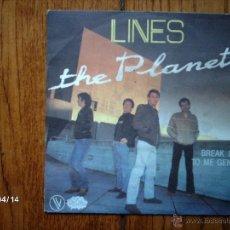 Discos de vinilo: THE PLANETS - LINES + BREAK IT TO ME GENTLY . Lote 47105753