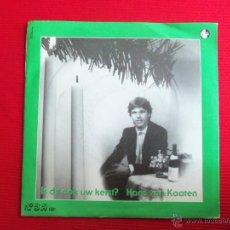Discos de vinilo: HANS VAN KOOTEN - IS DIT OOK UW KERST?. Lote 47107089